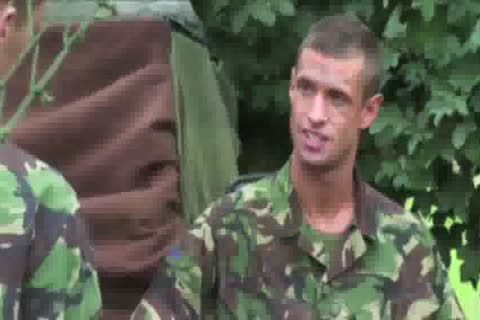 Soldier twink British fuck With A Peeper