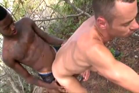 Interracial Bbc oral-sex  unfathomable drilled Standing