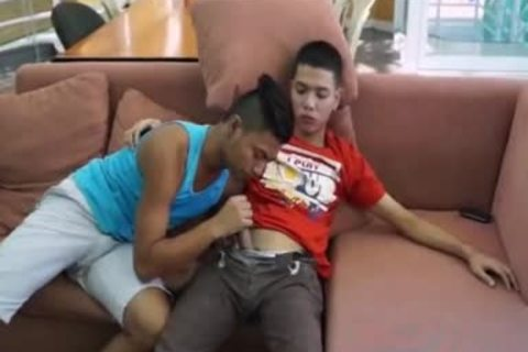 Pinoy monstrous penis Arjo And Josh,, enjoy Pinoy M2M slam, engulf, And anal anal plowing