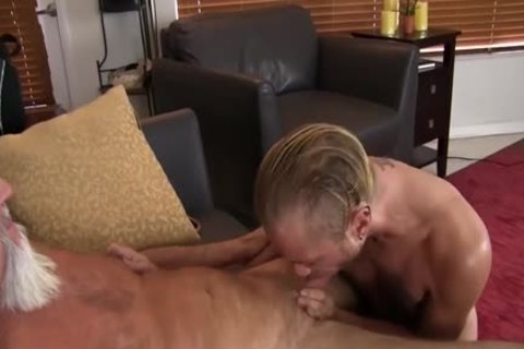 young guy acquires plowed In The wazoo By messy old guy