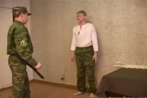 Russian Army spanking And fucking