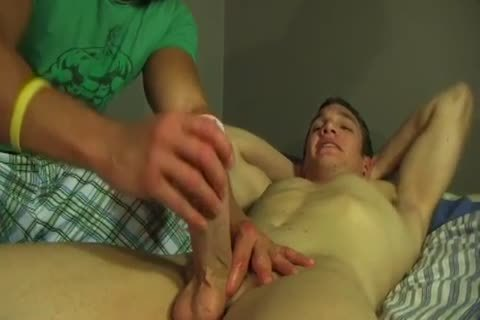 I offered my straight friend a handjob today!
