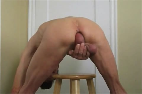 biggest bare dick and extraordinary ass and Self plowing