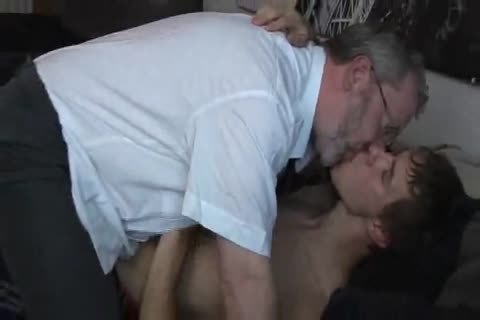 juvenile twink tempted by old daddy
