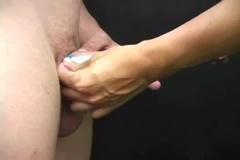Pale twink penis and Balls fun