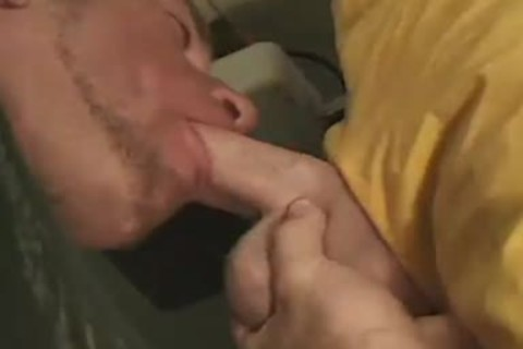 naughty chap receives His taut anal poked Hard