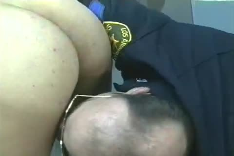 dudes In Uniform acquire Filled And drilled doggystyle.