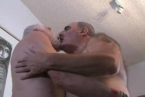 two older guy getting off