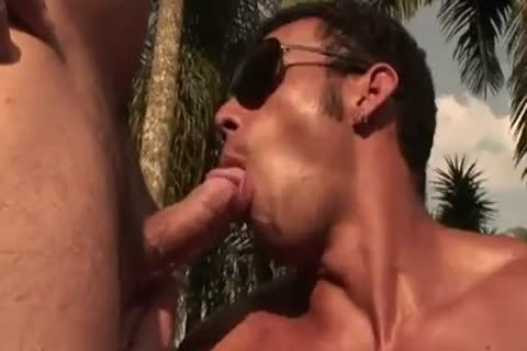 Ricco Puentes Poolside anal hammering