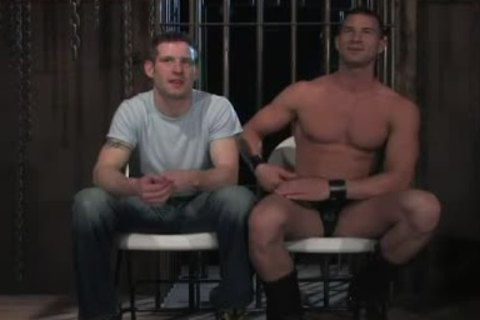 shackled In Wood homo ass hole Rougly plowed