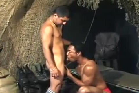 Tasty sex in a tent