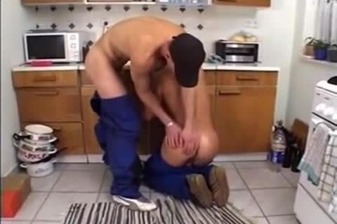 lusty Ramming In The Kitchen After Work