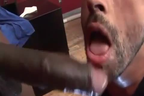 IZZY sucking big black weenie