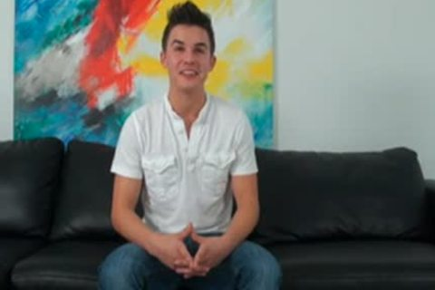 sweet homosexual teen receives Casting