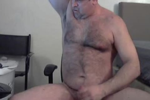 hirsute GORILLA man coach huge sperm