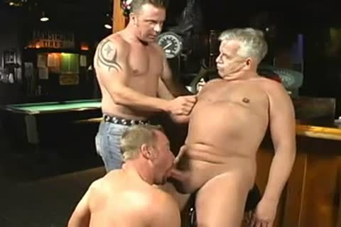 nasty Daddy And Two Younger men