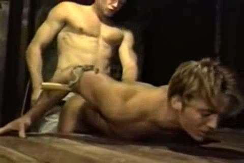Bondage and gay, forbidden pornography