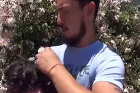Walking The Dog Leads To Some doggy style - Factory clip scene