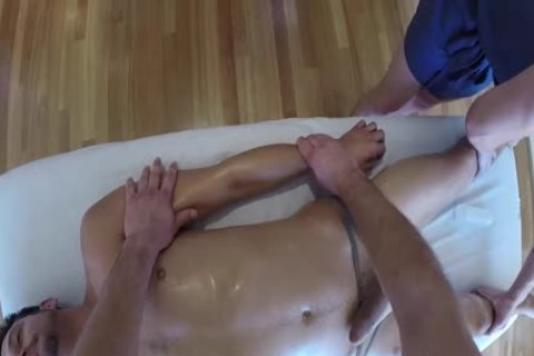 MenPOV pretty Threeway Massage And nail With toy