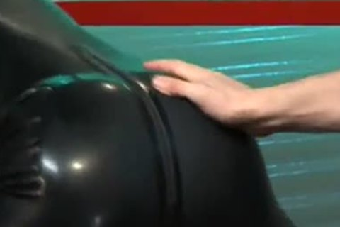 Rubber stud Getting Fist poked