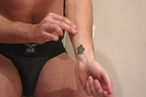 dude With hairless blowjob Is On His Knees unfathomable Throating Hard knob