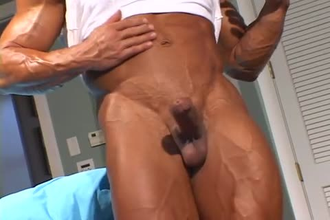 delicious pumped up lad strips And Jerks Off