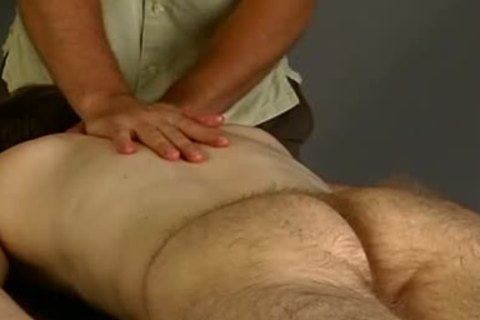 BW Michael truly hairy Massage