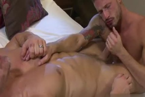 young Stepfather deep face hole swallow