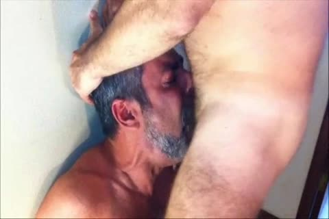 One Of The superlatively horny cock suckers From Brasil In A brutaly Facefucking Action.