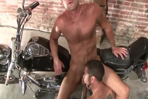 Damon Dogg And The cum gap Cruisers - Scene three - Factory clip