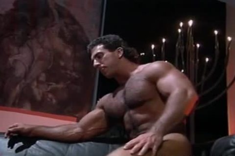 Vca gay darksome leather white males scene two