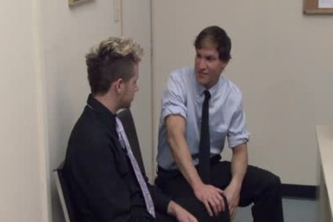 yummy homosexual men bang In The Office