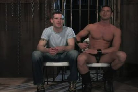 shackled In Wood homosexual chocolate hole Rougly nailed