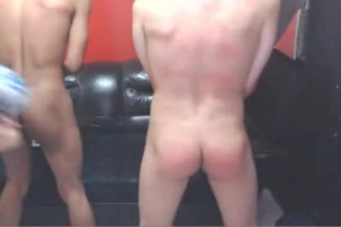 Harsh Whipping For two On Web cam
