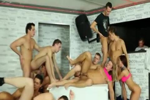 Steamy bisexual gangbang