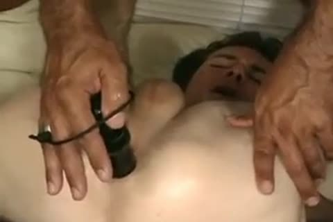cum Filled chap Holes