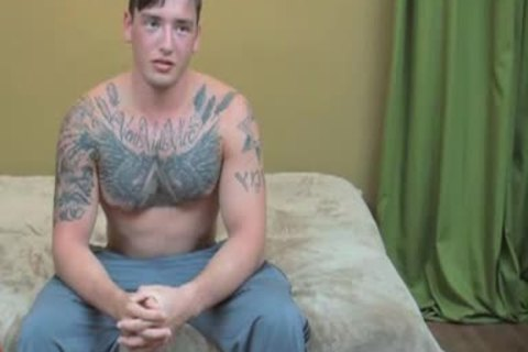 Nasty gay guys in tats safe banging