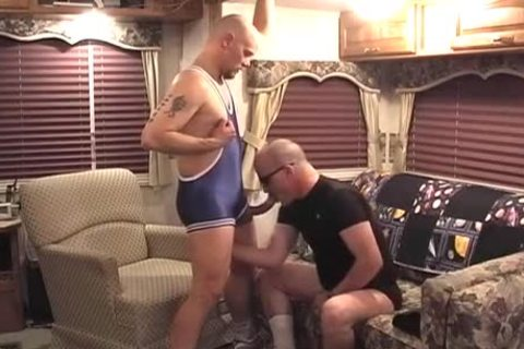 mature males Excited jointly On The daybed