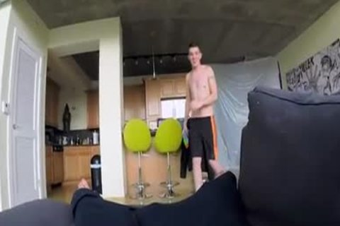 Pretty twink gets team fucked by pov