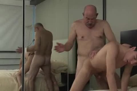 Grandpa and twink sex