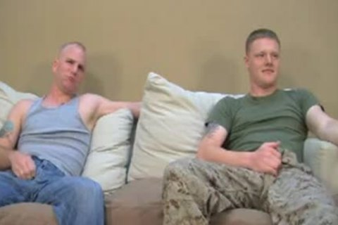 Two straight Marines Have Gaysex For cash