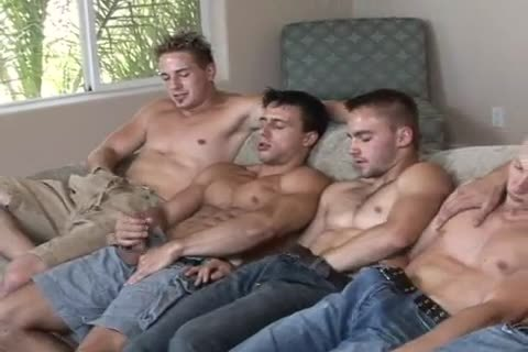 Circle Jerk Tugging Dicks