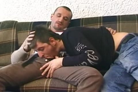 gay Enjoys Deepthroat oral sex stimulation With hardcore Barebacking