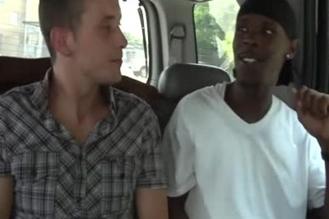 Seth Ryan acquires His butthole tutored By dark guys