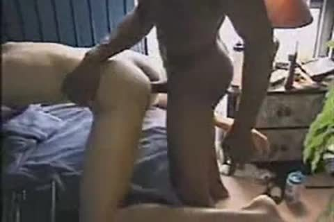 White Sissy lad bonks His massive darksome penis bf