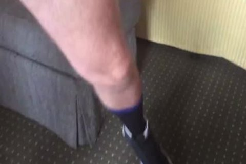 My Aussie Buddy Is Back.  Such A Playful Fucker.  that guy Left His Hotel Room Ajar while that guy Was In The Shower.  I help Myself To His Flashlight while that guy is Showering.  that guy Comes Out In A slutty Sliver Singlet And Proceeds To blow Me