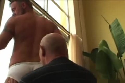 old chap shoots his cream In The jo-bag while banging A Daddy