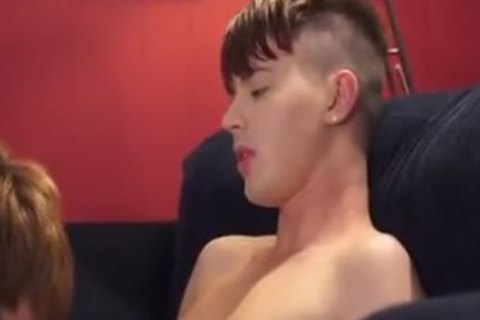 Married twink alex receives double banged