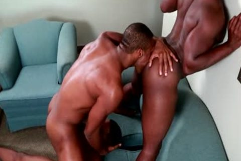 Damian Brooks And Andre Donovan In A trio!