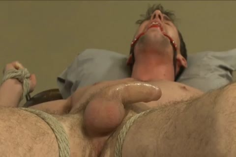 bdsm - Southern dude receives His ramrod Edged.